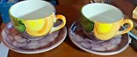 R B Alcobaca soup cups made in Portugal