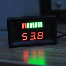 12V Digital LED Display Motorcycle Voltage Meter Acid Electromobile Volt Gauge