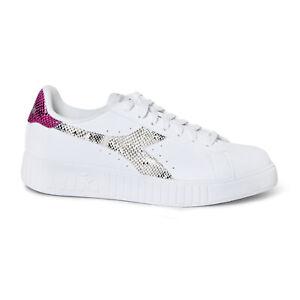 Scarpe Sneaker Donna DIADORA Modello GAME P STEP REPTILE WN