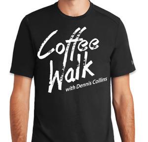 Dennis Collins Coffee Walk Logo T-Shirt - Black