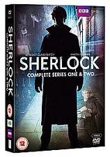 Sherlock - Series 1-2 - Complete (DVD, 2012, 4-Disc Set, Box Set)