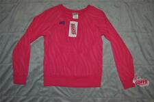 Soffe Zebra Print Dance Crew Sweatshirt Pink 6635G Girls Medium NWT