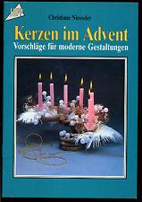 Basteln--Kerzen im Advent-TOPP 1297 --Christiane Niesseler-