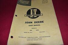 John Deere 435D 4401D Tractor I&T Shop Manual CHPA