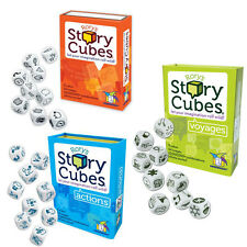 Rory's Story Cubes, Actions, Voyages Bundle Set Family Dice Game Gamewright