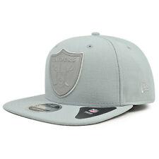 Oakland Raiders New Era 3M FLASH SNAP Reflective Gray Snapback 9Fifty NFL Hat