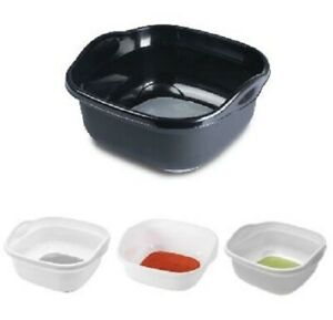 Addis Soft Touch Plastic Washing Up Bowl 8.5L Basin Sink Dishes with Handles