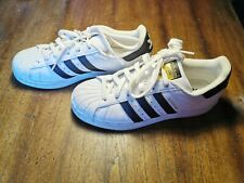 Adidas SUPERSTAR Ortholite Black White Leather Sneakers Men's Size 6 US