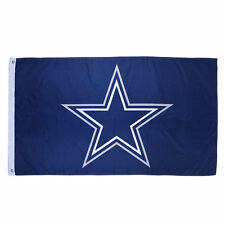 "New Dallas Cowboys Authentic Team Flag 3x5 Indoor Outdoor 3""x5"" Banner Hologram"