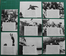 17 Original Pressefotos: Peter O'Toole - Der lange Tod des Stuntman Cameron -S/W