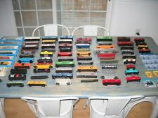 Large lot of Ho Scale Train Cars Bachmann Tyco Atlas Life-Like Freight Caboose..