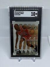 1995-96 Metal Michael Jordan Slick Silver SGC 10 Gem Mint