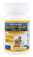 New listing Pro-Sense Itch & Allergy Solutions for Pets, 100-Count