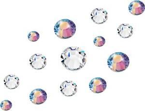 Preciosa Flatback Nail Art Crystals | Luxury Crystal Manicure | Various sizes