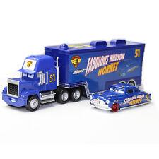1:55 Metal Toys Disney Pixar Cars&Truck #51 Fabulous Doc Hudson Hornet Truck+Car