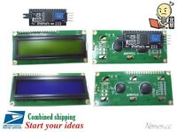 5V Blue Yellow Backlight IIC/I2C Serial 1602A 16x2 Character LCD Display Module