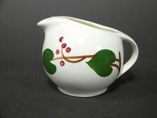 Mid-Century Modern Creamer Blue Ridge Southern Potteries Stanhome Ivy Pattern