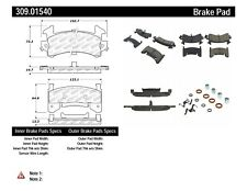 Disc Brake Pad Set-Rear Disc Front,Rear Stoptech 309.01540