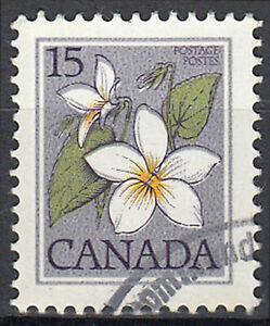 Kanada gestempelt Blume Pflanze Flora Natur Pflanzenwelt / 66