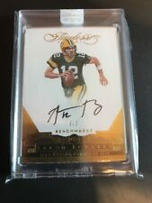 2016 FLAWLESS AARON RODGERS AUTO #4/5 Benchmarks!!!