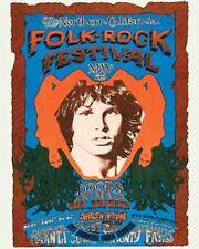 Vintage looking The Doors 1968 Jim Morrison concert Poster