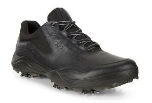 NEW *Ecco Men's Strike Golf Shoes - Black - Drummond Golf