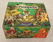 OPENED Mystery Island Neopets Trading Card Booster Box 36 Packs NO CODE CARDS