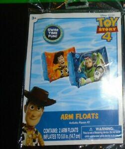 Disney Toy Story 4 Swim Swimming Arm Floats NEW