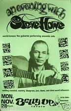 STEVE HOWE 1996 SAN DIEGO CONCERT TOUR POSTER  - Yes Legendary Guitarist