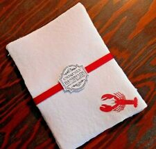 Handmade Paper Sheets (10) - Lobster (850)Free Shipping