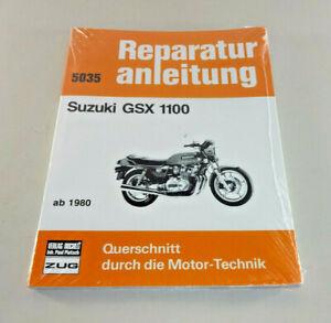 Manual de Reparación/Manual Suzuki GSX 1100 - Desde Año 1980
