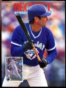 Beckett Baseball Card Monthly #107 February 1994 Paul Molitor Blue Jays VG