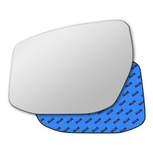 Left Hand Passenger Side mirror glass Nissan Pulsar C13 2014-2020 844LS
