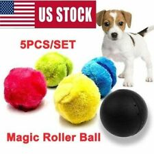 5PCS/SET Magic Automatic Roller Ball Toy Puppy Roller Ball Pet Dog Cat Ball Toy
