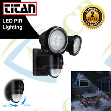 20W MOTION PIR Sensor OUTDOOR TWIN LED FLOODLIGHT Garden Spotlight Security