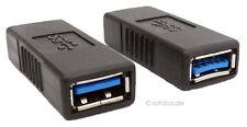 USB-3,0 Kupplung Buchse auf Buchse, Typ A, Verlängerung Adapter #865