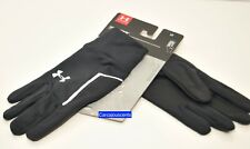 Men's Under Armour No Breaks Armour Liner Gloves  Size Large
