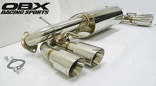 OBX Performance Axle Back Exhaust Fit 08 09 10 11 Impreza WRX STi 2.5L GR Series