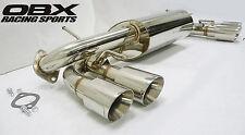 OBX Performance Axle Back Exhaust Fit 08 09 10 11 Impreza WRX STi 2.5L GR Series