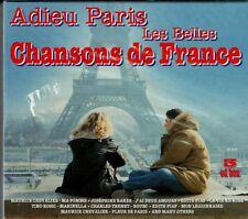 Adieu Paris Les Belles Chansons de France   3 CDS SET BOX BRAND NEW SEALED  CD