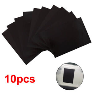 10pcs A4 Magnetic Sheets 0.4mm Strong Flexible Die Storage Crafts Spellbinders