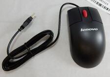 LENOVO MOUSE USB OPTICAL SCROLL MICE 06P4069 / MO28UOL - BLACK