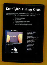 Knot Tying:  Fishing Knots-CD ROM - Learn The Most Common Fishing Knots-NEW!