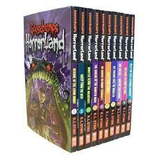Goosebumps Horrorland Series Collection R L Stine 10 Books Set (revenge of The