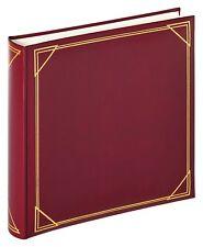 Album Rosso Bordeaux Oro 30x30 Porta Foto 400 Fotografie 10x15 Pagine Pergamena
