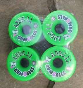 Abec 11 Gumball 76mm 81A Longboard Skateboard Wheels - RARE NEW SEALED