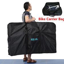 "51"" Bike Folding Travel Bag Carry Transport Case Road Mountain Bicycle Luggage"
