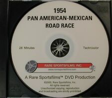 1954 Pan American-Mexican Road Race on DVD in COLOR!