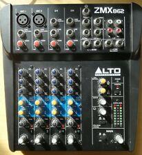 ALTO ZEPHYR ZMX862 6 CHANNEL MIXER IN EXCELLENT CONDITION