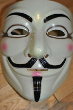 Anonymous Vendetta mask.plastic avec épais band.guy Fawkes protester masque